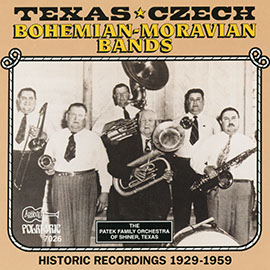 The Texas-Czech, Bohemian & Moravian Bands