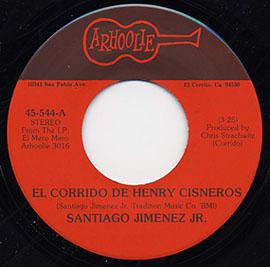 El Corrido de Henry Cisneros / Teines Que Pagar