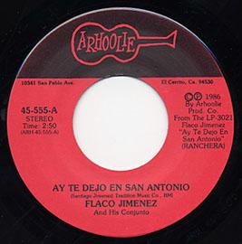 Ay Te Dejo en San Antonio / La Barranca