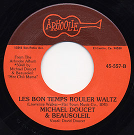 Hot Chili Mama / Les Bon Temps Rouler Waltz