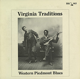 Virginia Traditions: Western Piedmont Blues