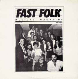 Fast Folk Musical Magazine (Vol. 2, No. 10)