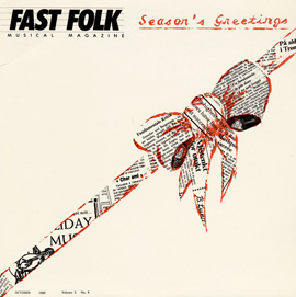 Fast Folk Musical Magazine (Vol. 3, No. 8) Season's Greetings
