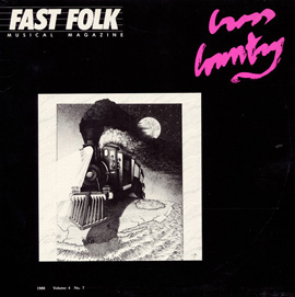 Fast Folk Musical Magazine (Vol. 4, No. 7) Cross Country