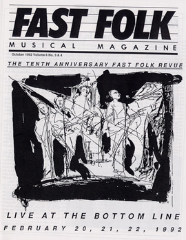 Fast Folk Musical Magazine (Vol. 6, No. 4) Fast Folk Revue-Live at the Bottom Line 1992