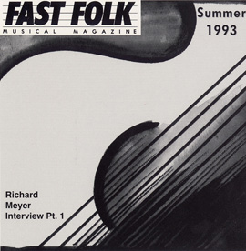 Fast Folk Musical Magazine (Vol. 7, No. 5) Summer 1993