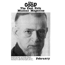 CooP - Fast Folk Musical Magazine (Vol. 1, No. 1)