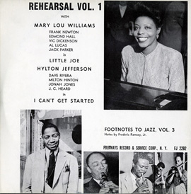 Footnotes to Jazz, Vol. 3: Jazz Rehearsal, I