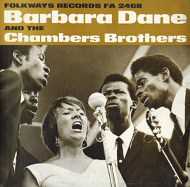 Barbara Dane and the Chambers Brothers