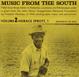Music from the South, Vol. 2: Horace Sprott, 1