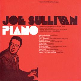The Musical Moods of Joe Sullivan: Piano