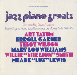 Jazz Piano Greats