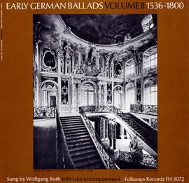 Early German Ballads, Vol. 2: 1536-1800
