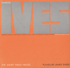 TCharles Ives: The Short Piano Pieces