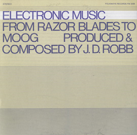 Electronic Music: From Razor Blades to Moog