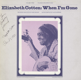 Elizabeth Cotten, Volume 3: When I'm Gone