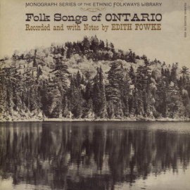 Folk Songs of Ontario