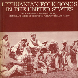 Lithuanian Folk Songs in the United States