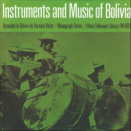 Instruments and Music of Indians of Bolivia