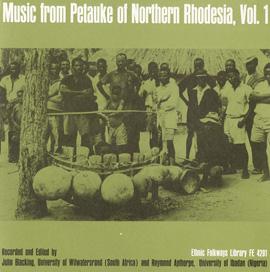 Music from Petauke of Northern Rhodesia, Vol. 1