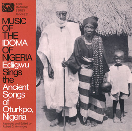 Music of the Idoma of Nigeria