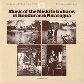 Music of the Miskito Indians of Honduras and Nicaragua