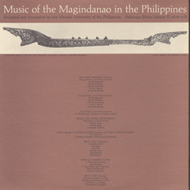 Music of the Magindanao in the Philippines, Vol. 1 & 2