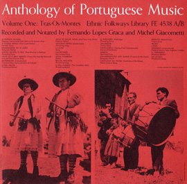 Anthology of Portuguese Music, Vol. 1: Tras-Os-Montes and Vol. 2: Algarve