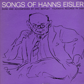 Songs of Hanns Eisler