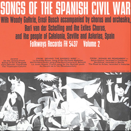 Songs of the Spanish Civil War, Vol. 2
