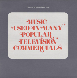 Music Used in Many Popular Television Commercials and Their Sponsors: Bosworth Ensembles