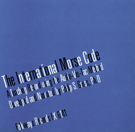 The International Morse Code: A Teaching Record Using the Audio-Vis-Tac Method
