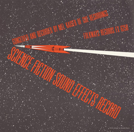 Science Fiction Sound Effects Record