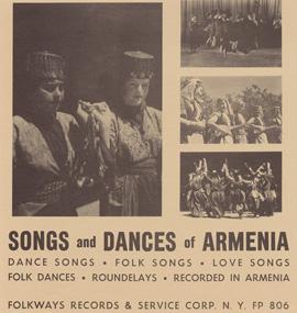 Songs and Dances of Armenia