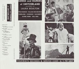 Songs and Dances of Switzerland