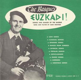 Songs and Dances of the Basque (Euzkadi)