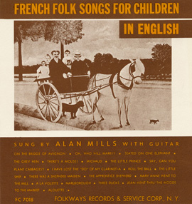 French Folk Songs for Children in English