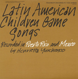 Latin American Children Game Songs
