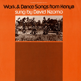 Work and Dance Songs from Kenya
