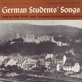 German Students' Songs