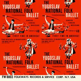 The Yugoslav National Folk Ballet (Tanec)