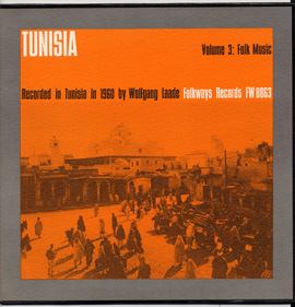 Tunisia, Vol. 3: Folk Music