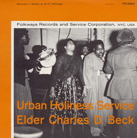 Urban Holiness Service