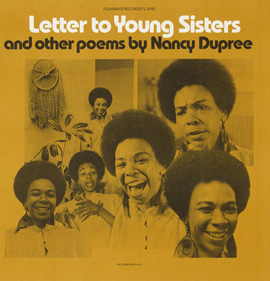 Letter to Young Sisters and Other Poems by Nancy Dupree