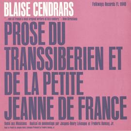 Prose du Transsiberien et de la Petite Jeanne de France by Blaise Cendrars