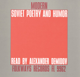 Modern Soviet Poetry and Humor: Read by Alexander Demidov