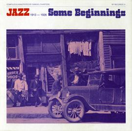 Jazz/Some Beginnings - 1913-1926