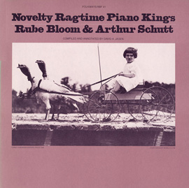 Novelty Ragtime Piano Kings