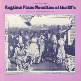 Ragtime Piano Novelties of the 20's