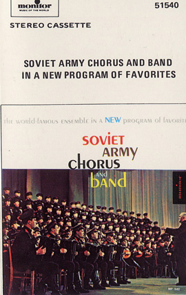 Soviet Army Chorus & Band in a New Program of Favorites